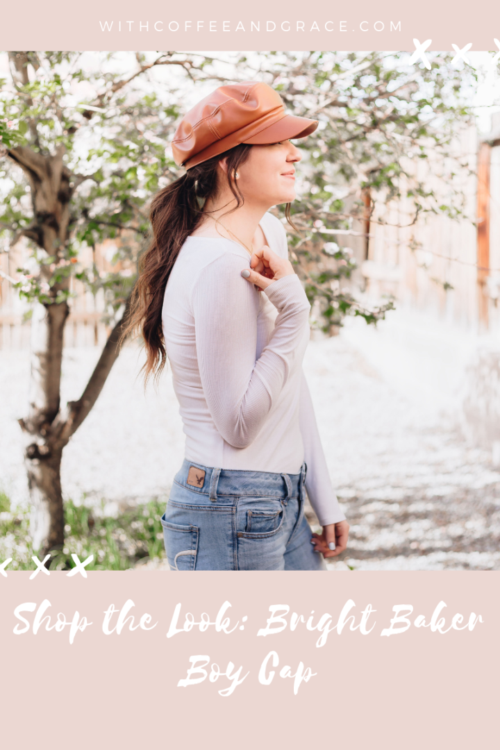 Shop the Look: Bright Baker Boy Cap