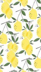 Lemons | Botanical illustration #NutritionWallpers